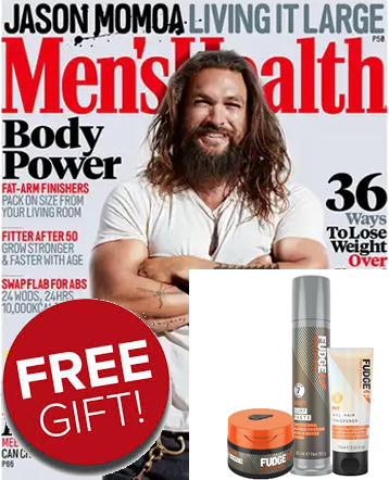 mens health free gift