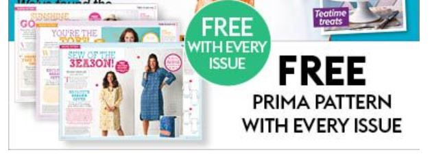 Free Pattern with every issue